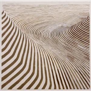 מתוך סדרת חישוף , 2007 סנגין על נייר מודפס