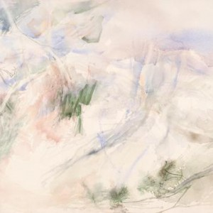 Distant Vista - Menes Eve, 2002-2007, Aquarelle on paper, 100X75