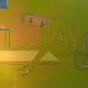 Transperant Man, 2007 Oil on canvas 174X132