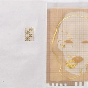 Tessy Cohen-Pfeffer, Untitled, artist's book, 2004, drawing, collage, embroidery, and paint on paper 21X16X3