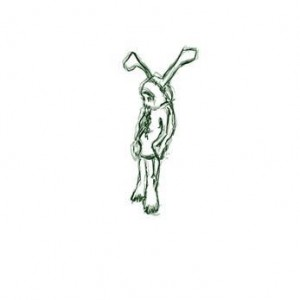 Amir Pollak, Rabbit, 2006, flash animation, graphic pen, frame by frame