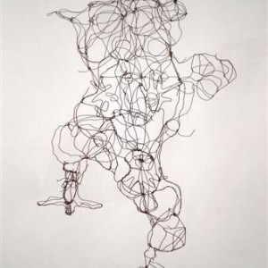 David Isaacs, Craft, 2005, metal wire 117x64