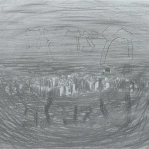 מרב דביש בן-משה, מזרח – מצד זה רוח חיים, 2006, גרפיט על הדפסה דיגיטלית של צילום 20X27