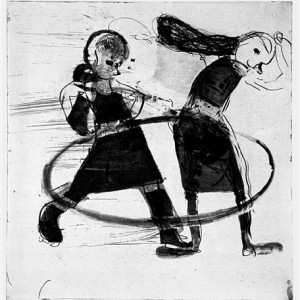Michal Bachi Untitled, 2002, etching, soft-ground, aquatint, spit-bite and electric pencil 65X57
