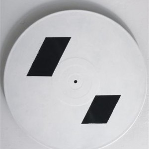 Yanai Segal, RE-Boot, 2007, gesso on records