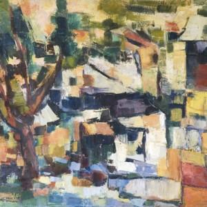 Halisa, oil on canvas 90X75 cm