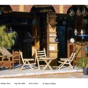 לה בטיטה, סיני, 2004 שמן על בד 130x96