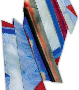 צורות עולות, 2005 מבנה נייר ואקריליק 70x50