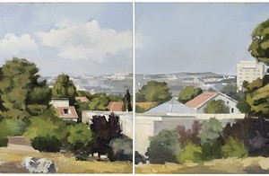 Grove - The German Colony, 2006 oil on canvas 90x70 cm