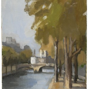 Paris, 2007 oil on canvas 27x22 cm