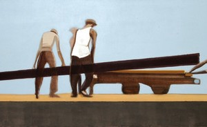 Untitled, 2008 oil on canvas 170x60 cm