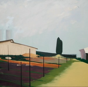 Untitled, 2008 oil on canvas 112x187 cm
