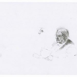 Untitled - Baer Shimrit,  2008, pen on paper,  22x30 cm