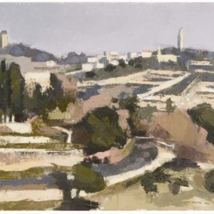 Mount Zion , 2007 Oil on canvas 30x40