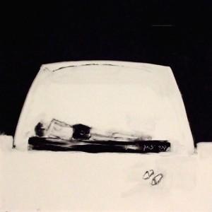 קטקומבה, 2008 שמן על נייר 50x50 סמ