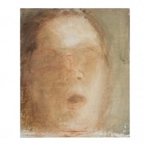 """""""ה', שפתי תפתח"""", 2006 שמן על פנל עץ 12.5x15"""