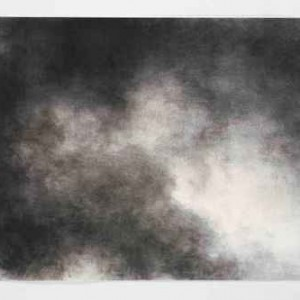 Heaven no.3 - Hamawy Ilana, 2006, charcoal on pape, 100x70