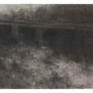 Bridge no.6 - Hamawy Ilana, 2009, charcoal on paper, 75x105