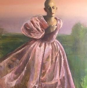 Bride, 2009 oil on canvas 140x94 cm