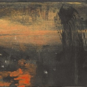 """Untitled, from the series """"Battle Landscapes"""", 2009 oil on cardboard 20.8x 27.9 cm"""