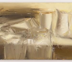 """מאיר אפלפלד טבע דומם, ,2009 ,שמן על פשתן 91.5X46 ס""""מ"""