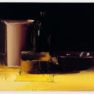 """מאיר אפלפלד, טבע דומם ,2008 שמן על פשתן 63X53 ס""""מ"""