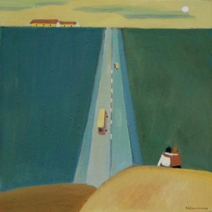 Bon Voyage, 2009, oil on canvas 80x80 cm