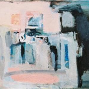 House, 1999 Oil on canvas 80 x 90 cm