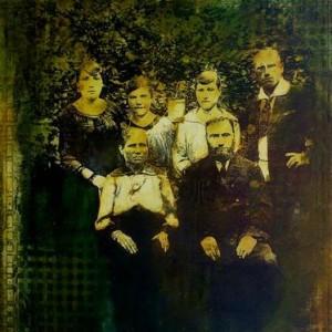 My Not So Distant Ancestors 1 - Baratynsky Anatoly, 2004, mixed media on canvas