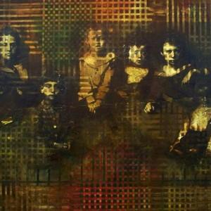 Holocaust Children 1 - Baratynsky Anatoly, 2004, mixed media on canvas