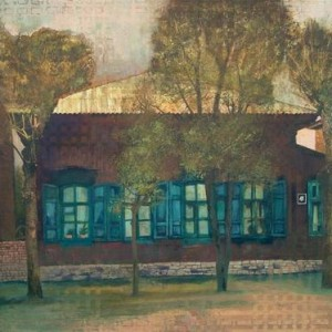 My Grandfather's House - Baratynsky Anatoly, 2004, mixed media on canvas