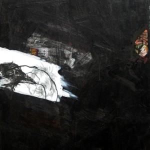 """עורב - בר-ניסים לנדאו אוסנת 2009  50X70 ס""""מ"""