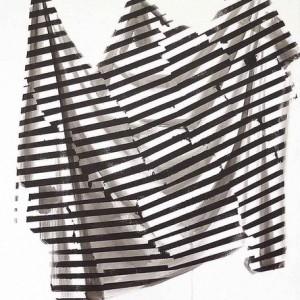 """גבריאלה קליין, בלא כותרת, 2007, גואש על נייר 39X37 ס""""מ"""