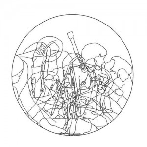 Boaz Aharonovitch, Humans, 2010, Digital drawing 160 images in 3 minutes