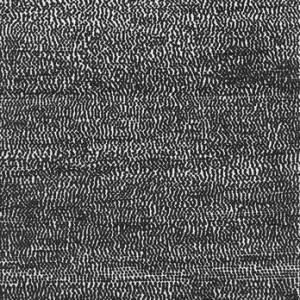 """דניאלה יניב, ריכטר מן הסדרה """"גלקסיות"""", 2009, עט לבד על נייר 21X29.5 ס""""מ"""