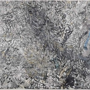 Tessy Cohen-Pfeffer, Untitled no.11, 2006, Pencil and watercolor on paper 133x210 cm