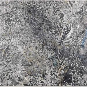 """טסי כהן-פפר, בלא כותרת מס' 11, 2006, עיפרון וצבעי מים על נייר 210X133 ס""""מ"""