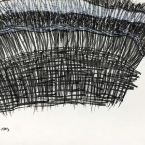 Riva Pinsky, Awadish The Skirt, 2007, Aquarelle pencil and watercolor on paper 29.7x42 cm