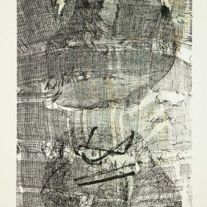 """רות הורם, התעוררות, 2009, הדפס-רשת על נייר 30X42 ס""""מ"""