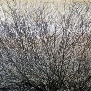 Le temps retrouvé - Livné Orit 2010 Oil on canvas and black crayon 120X178 cm