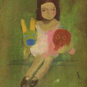 Untitled - Ganini Hagit, 2007, oil on canvas board