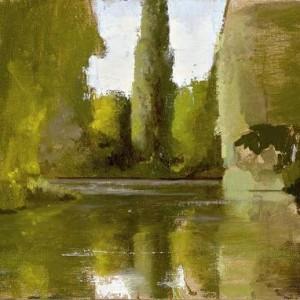 Tiergarten - Farber Eldar,  2009 , oil on canvas, 23X30 cm