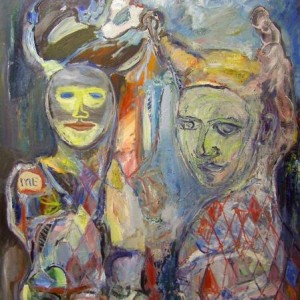 Untitled , 2011 oil on canvas 100x90 cm