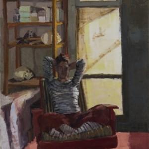 """ירושלים, ניו יורק - מרגלית דבי,  2006 , שמן על פשתן, 122X152.5 ס""""מ"""