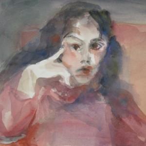 Eliaz Dalia 2006 aquarelle 40X60