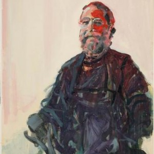 Self Portrait - Ben-Shaul, David, 1998, Oil on paper
