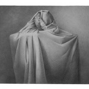 Orit Livné, Untitled, 2001, pencil on paper 53.5x73 cm