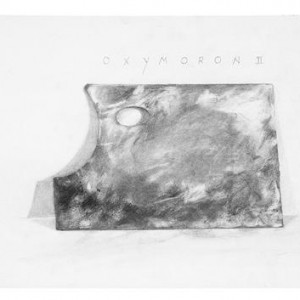 Oxymoron II, 2001 pencils on paper 35x50.5 cm
