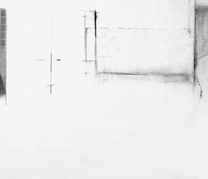 Simon Adjiashvili, Untitled, 1 2004, pastel on paper 96x187 cm