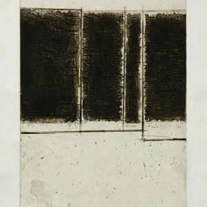 Shemi Yehiel, Untitled, 1983, etching 27.5x19 cm